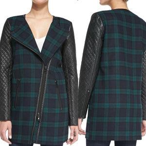 WALTER BAKER M NWT Tartan Plaid Wool Jacket Coat